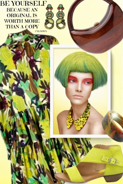Spring Green- Fashion set