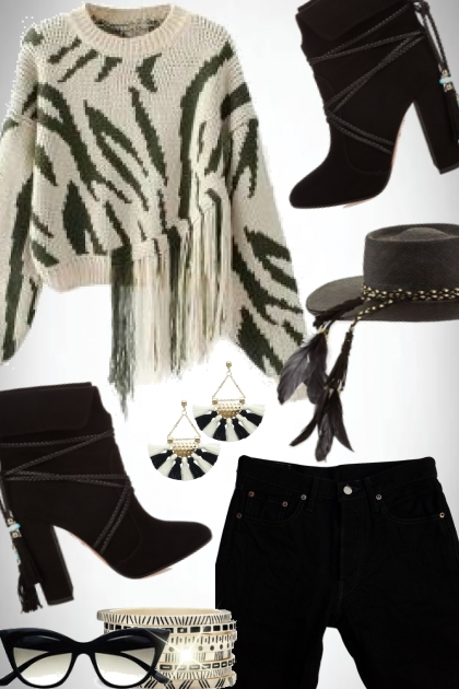 Black and White- Fashion set