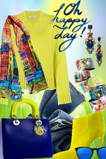 Oh happy day!- Fashion set