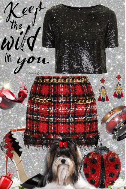 Keep the wild in you- Fashion set