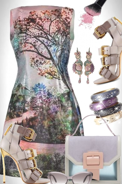 Mary Katrantzou Kardia Dress- 搭配