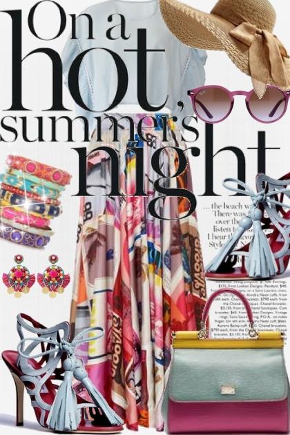 Hot Summer Night- Fashion set