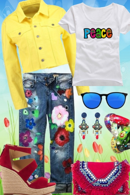 Give Peace a Chance- Fashion set