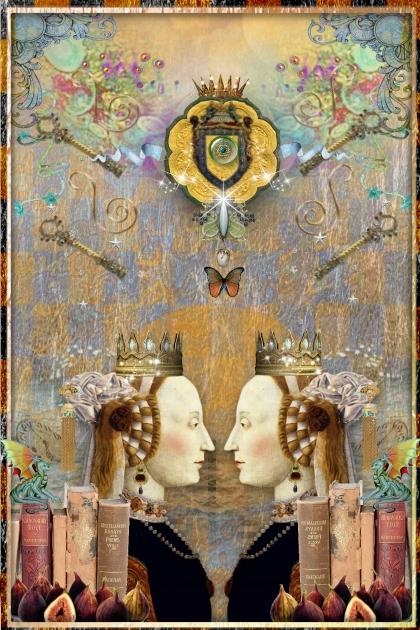 Monarchy Face Off!- combinação de moda