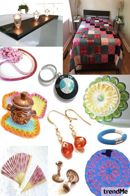 Etsy Handmade & Vintage Treasures - combinação de moda
