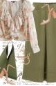 Ruffle Floral Shirt
