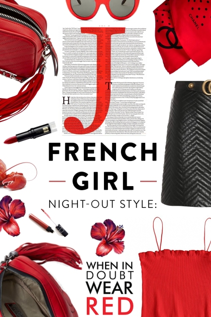 French Girl in Red