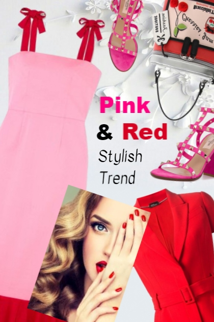 Pink & Red Stylish Trend