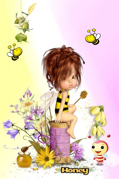 Sweet Little Honey Bee