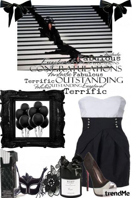 crno-bijelo u boji!!!!!!!!! - Fashion set