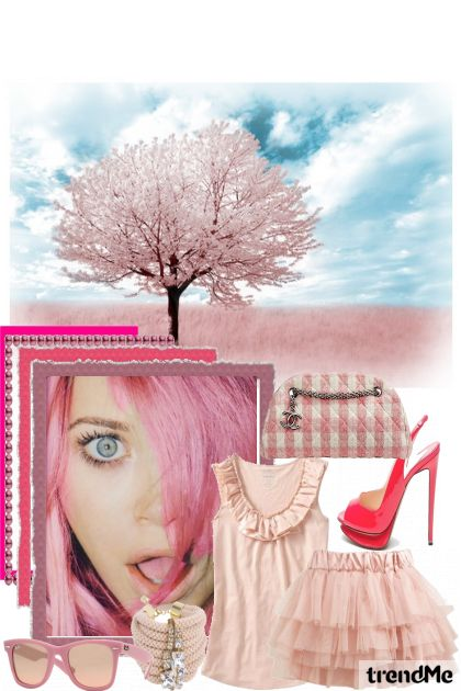 let's think pink! from collection ljeto by vanja crvenka