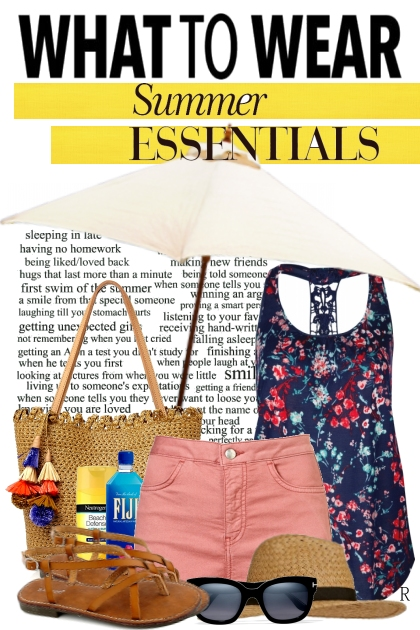 Summer Essentials- Fashion set