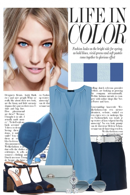 Blue Crush- Fashion set