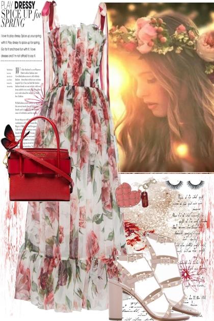 Dress Up For Spring- Fashion set