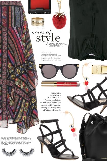 Notes Of Style- Fashion set