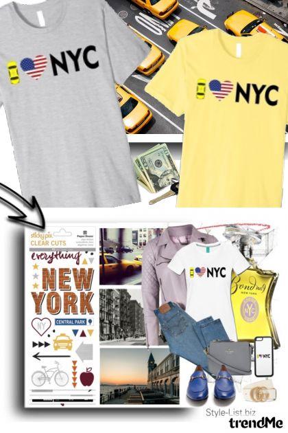 I love NYC tshirt set