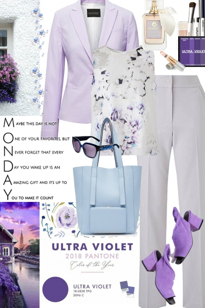 Casual Chic - Ultra Violet Look