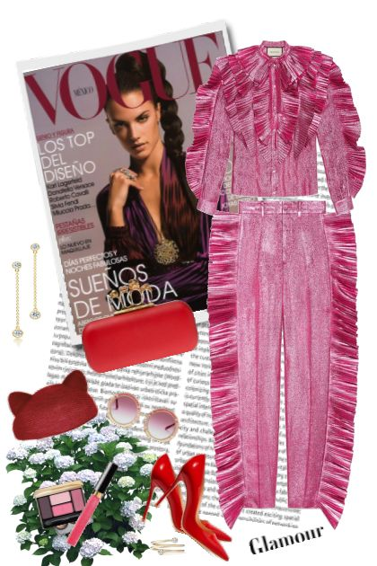 Pink&Red Glamour