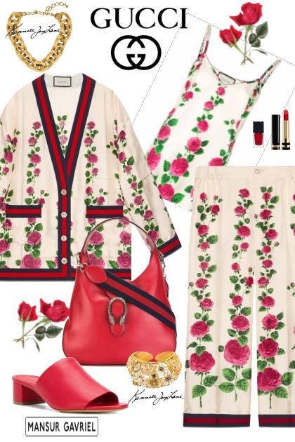 Rose garden from Gucci (SS2018)