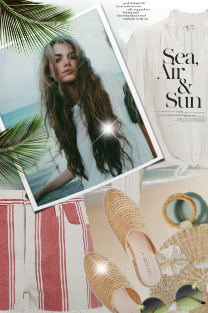 Sea, Air & Sun- Fashion set