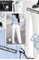 How to wear: White Pants