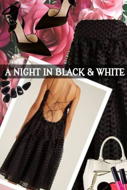 A NIGHT IN BLACK AND WHITE