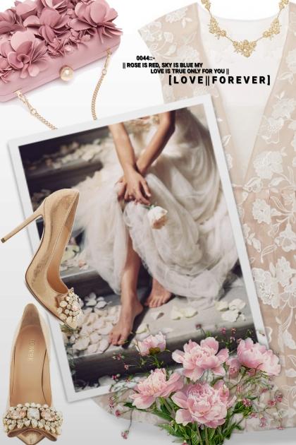 Love you forever- combinação de moda