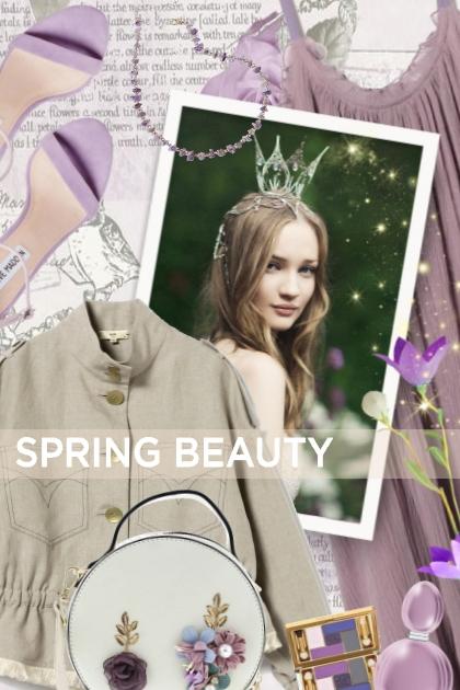 SPRING BEAUTY- Fashion set