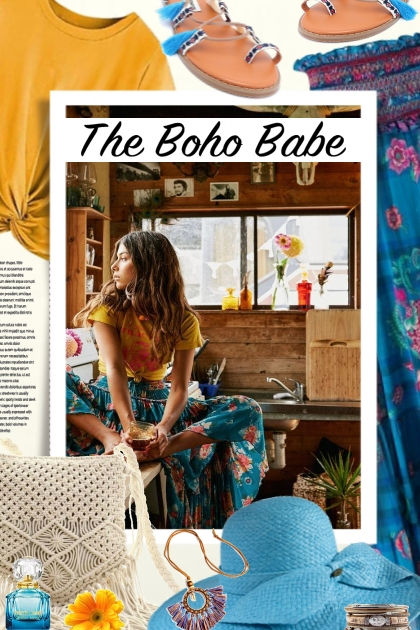 The Boho Babe- Fashion set