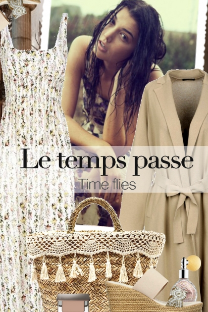 Le temps passe - Time flies