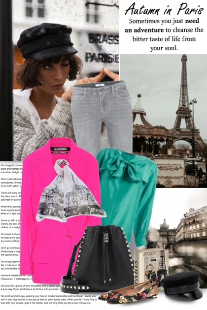 Autumn in Paris- Fashion set