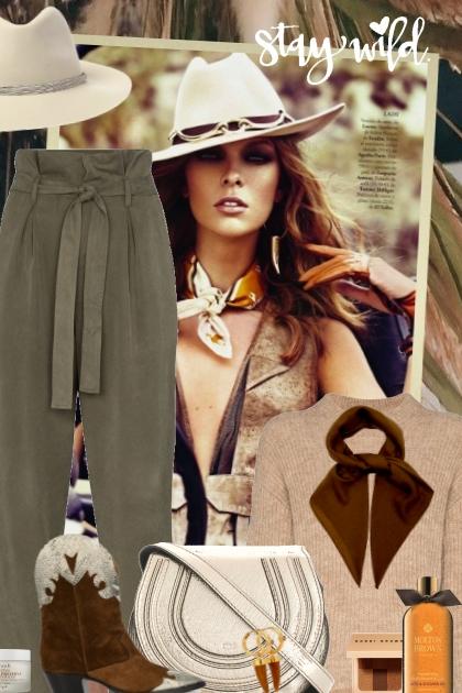 stay wild- Fashion set