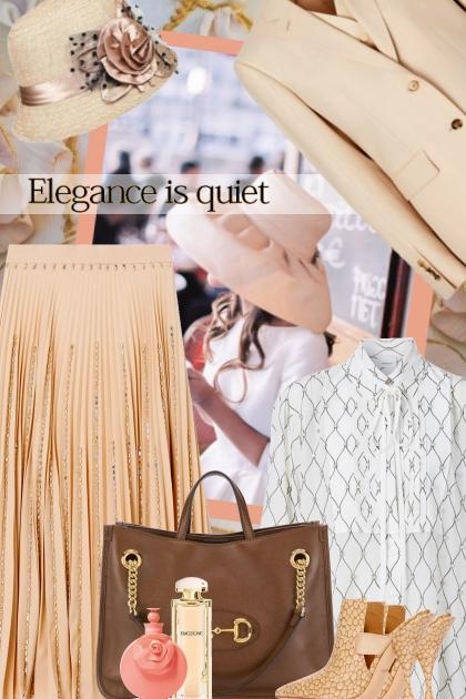 Elegance is quiet