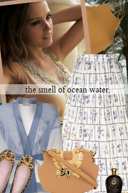 the smell of ocean water