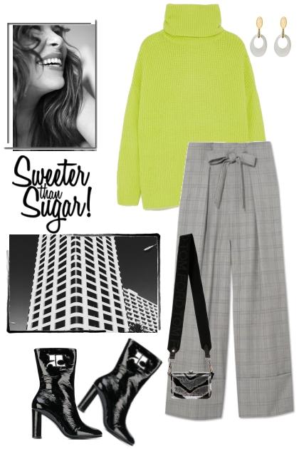 Lime and sugar
