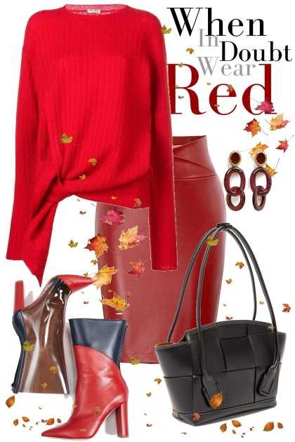 Red Autumn- Модное сочетание