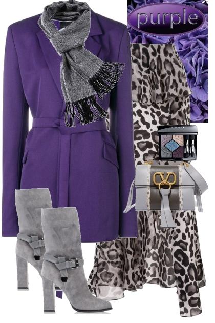 Purple- Modekombination