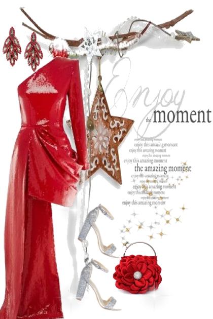 Christmas moment