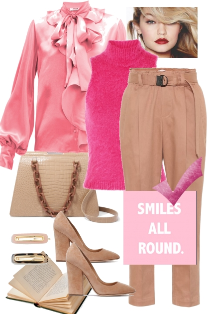 Smiles all round- Modna kombinacija