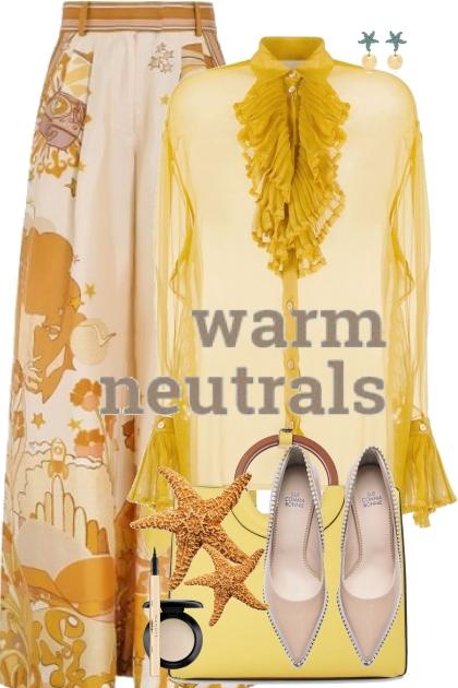 Warm neutrals