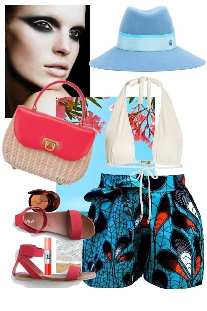 Happy beach- Fashion set