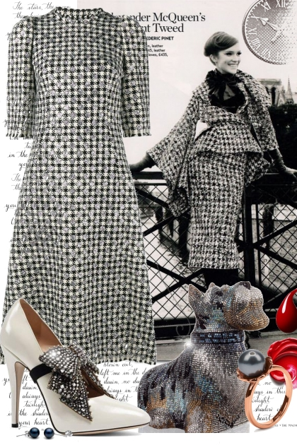 hounds tooth Couture