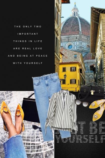 Walking in Florence