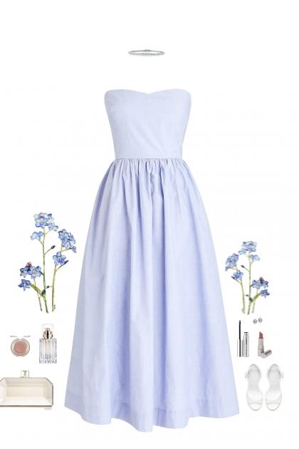 Bleu.- Fashion set