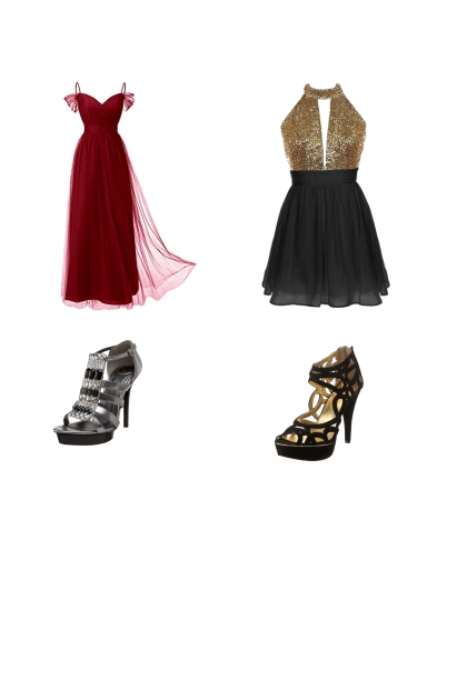 Red or Gold? <3