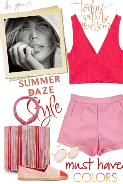 Summer in Red & Pink