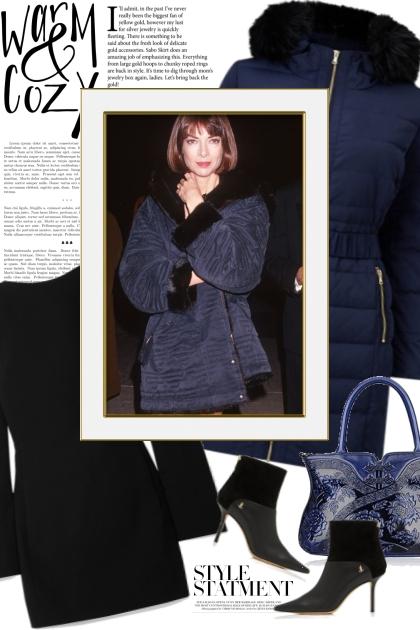 Elegant Puffer Coat
