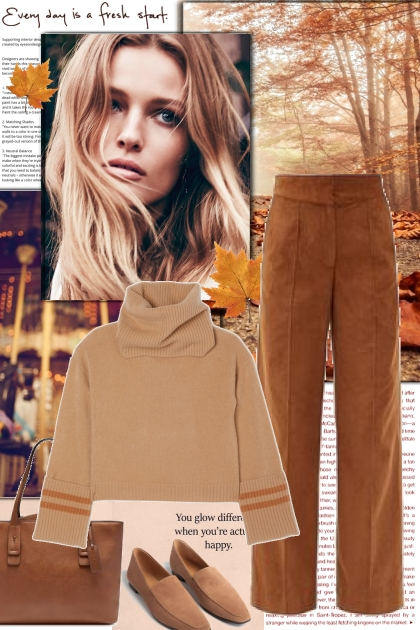 Earth Tones- Fashion set