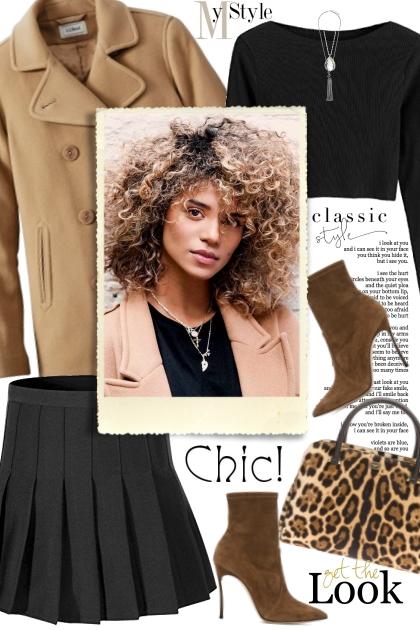 Black & Camel- Fashion set