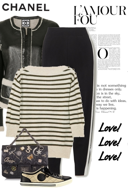 Black & Tan Chanel